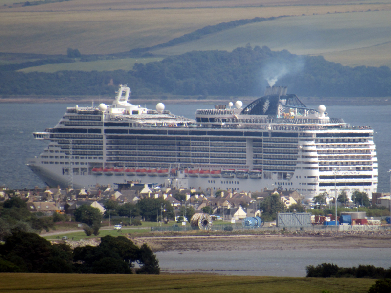 MSC Preziosa from Fyrish