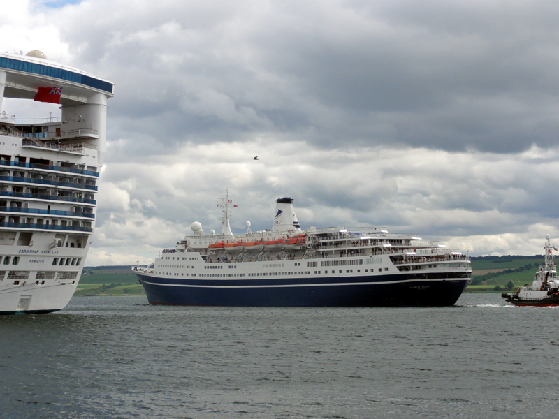 Caribbean Princess & Marco Polo