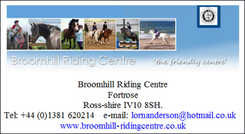 Broomhill Riding Centre